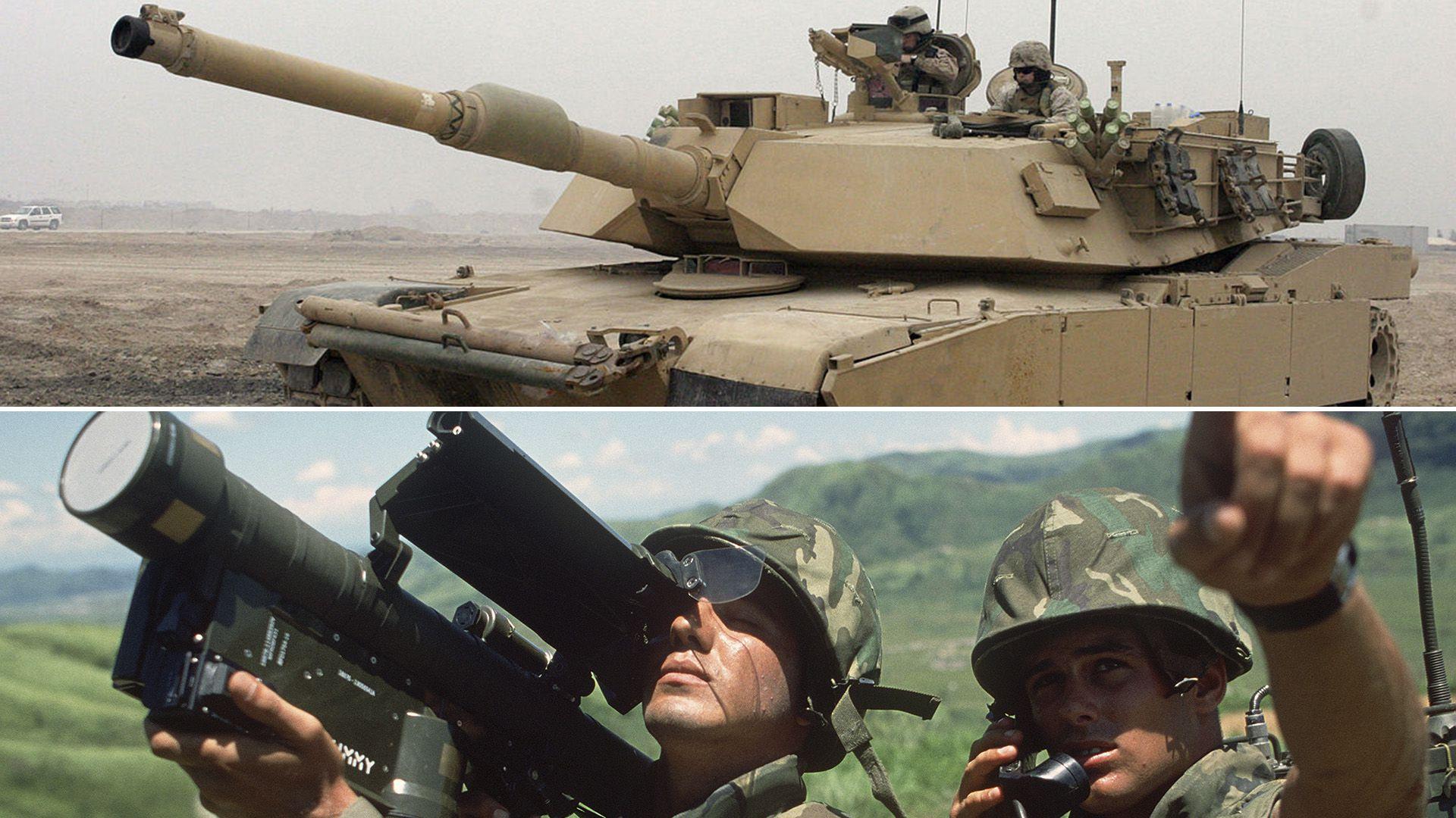 Tanques M1A2T Abrams y misiles Stinger, las armas que Estados Unidos espera poder vender a Taiwán, pese a la ira de China (Wikipedia)