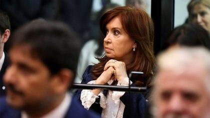 La ex presidente Cristina Kirchner . REUTERS/Agustin Marcarian
