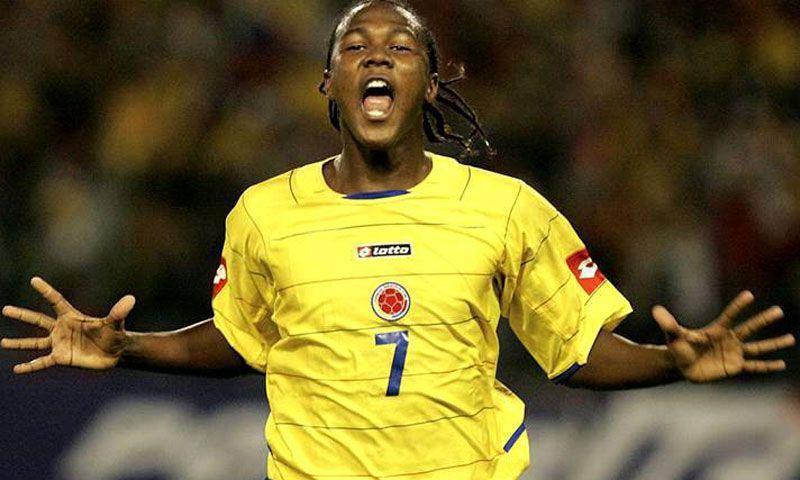 Hugo Rodallega fue el goleador del Sudamericano Sub 20 del 2005