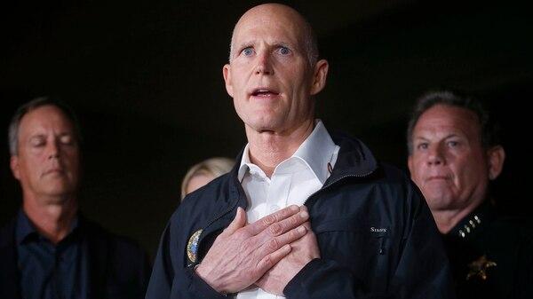 El gobernador de Florida Rick Scott (AP)