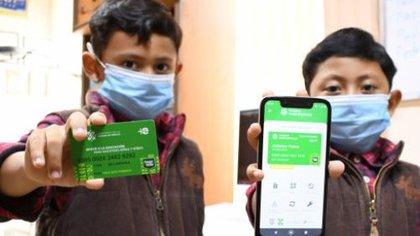 La tarjeta verde aparece cancelada pero se habilita la digital. (Foto: Fidegar)