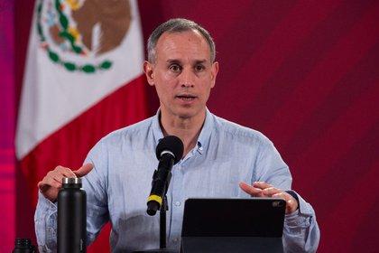 Hugo López-Gatell, subsecretario de promoción y prevención de la salud (Foto: Cortesía Presidencia)