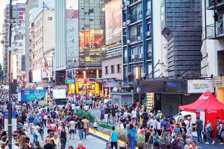 En la calle Corrientes entre Junín y 9 de julio, se realizó este gran evento que celebra el mundo del libro