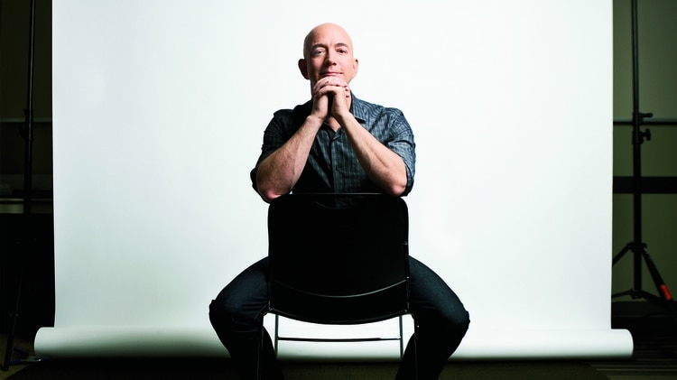 El fundador de Amazon Jeff Bezos