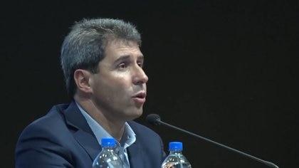Sergio Uñac, gobernador de San Juan
