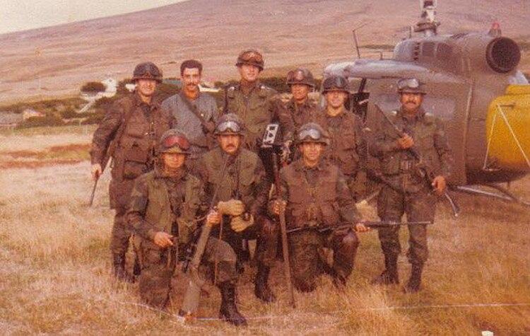 Gendarmería y el Escuadrón Alacrán tuvieron su bautismo de Fuego en las Islas Malvinas, en 1982, siete de ellos cayeron en combate.