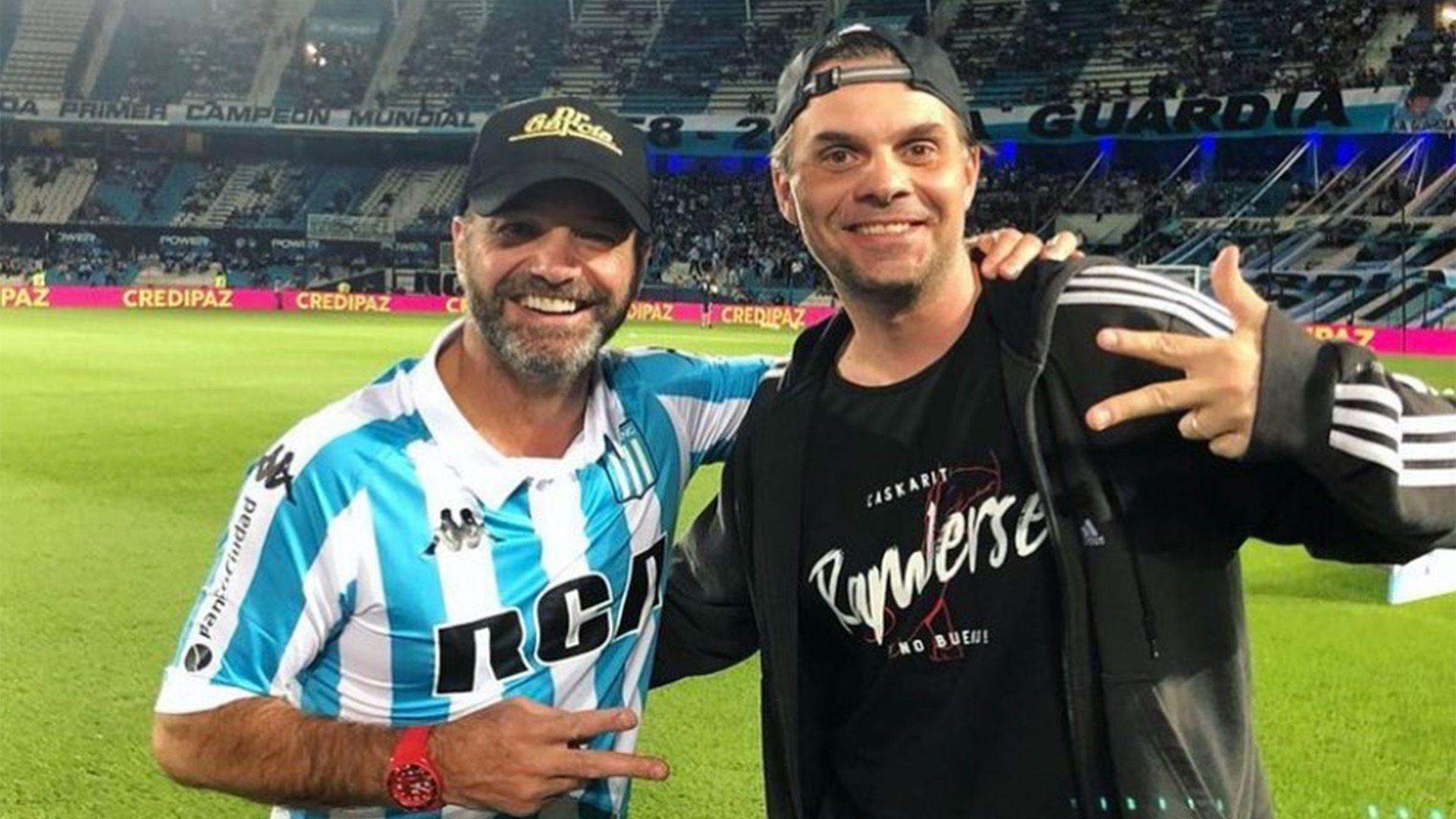 Martinoli y Luis García (Foto: Instagram@cmartinolimx)
