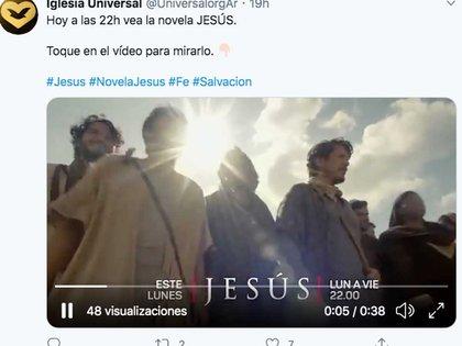 """Red Récord, de Macedo, produjo la telenovela """"Jesús"""", el éxito televisivo brasileño que se emite por Telefe y lidera el rating en la Argentina."""