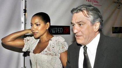 Robert de Niro y Grace Hightower, en una imagen de archivo (AFP)
