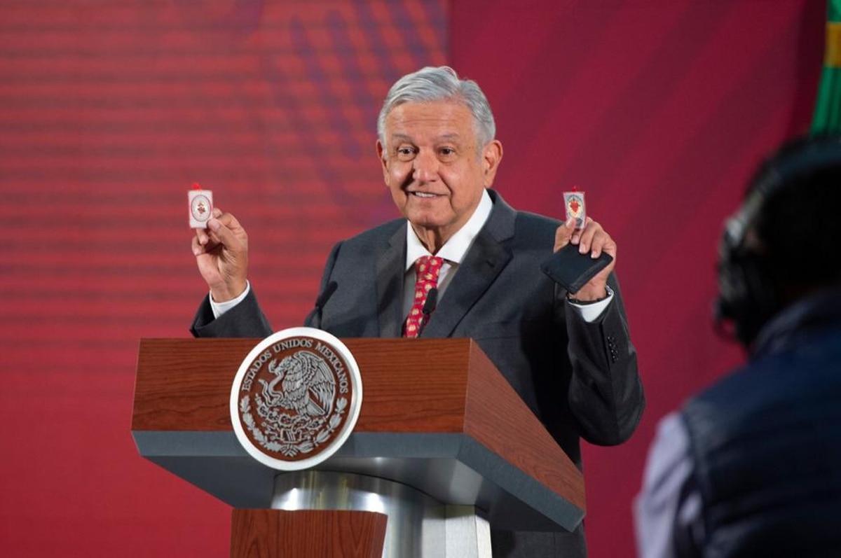 """""""Este es el detente"""": López Obrador presumió su escudo protector ante la emergencia y el coronavirus"""