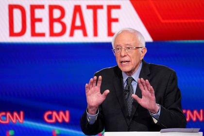 Bernie Sanders fue derrotado en Florida, donde su discurso social no cala entre los votantes (REUTERS/Kevin Lamarque)