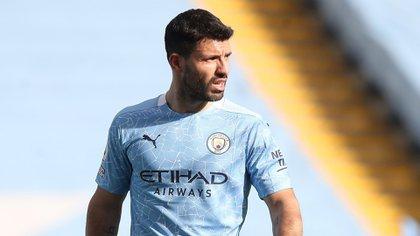 Agüero, de 32 años, llegó a la Premier League en 2011 (Reuters)