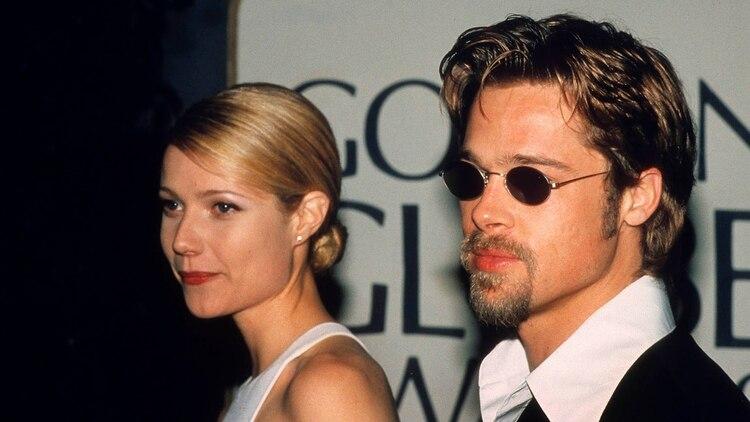 Brad Pitt y Gwyneth Paltrow fueron una de las parejas de celebridades más icónicas de la década de 1990. Se enamoraron mientras filmaban