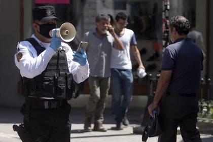 Nuevo León podría imponer el toque de queda si los contagios continúan en aumento ( Foto: Gabriela Pérez Montiel / Cuartoscuro)