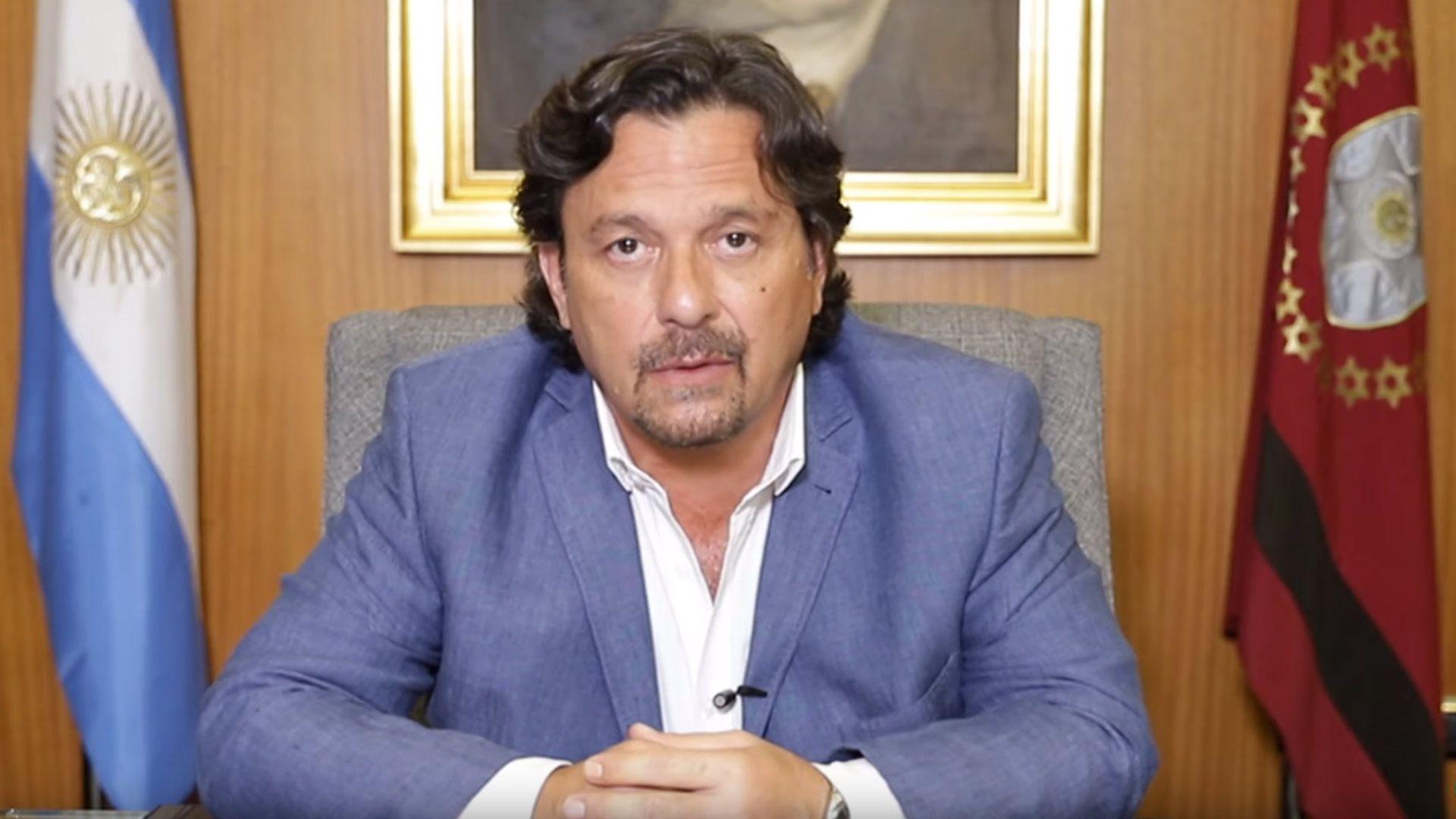 Gustavo Sáenz, gobernador de Salta