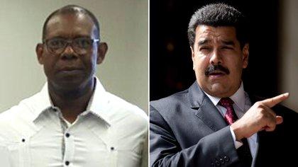 Manuel Ricardo Cristopher Figuera y Nicolás Maduro