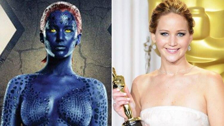 Jennifer Lawrence en X Men