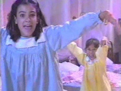 "Jimena y Milli en ""Chiquititas"" 1995"