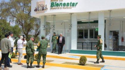 El Ejército tiene a su cargo la construcción de sucursales del Banco de Bienestar (Foto: Sedena)