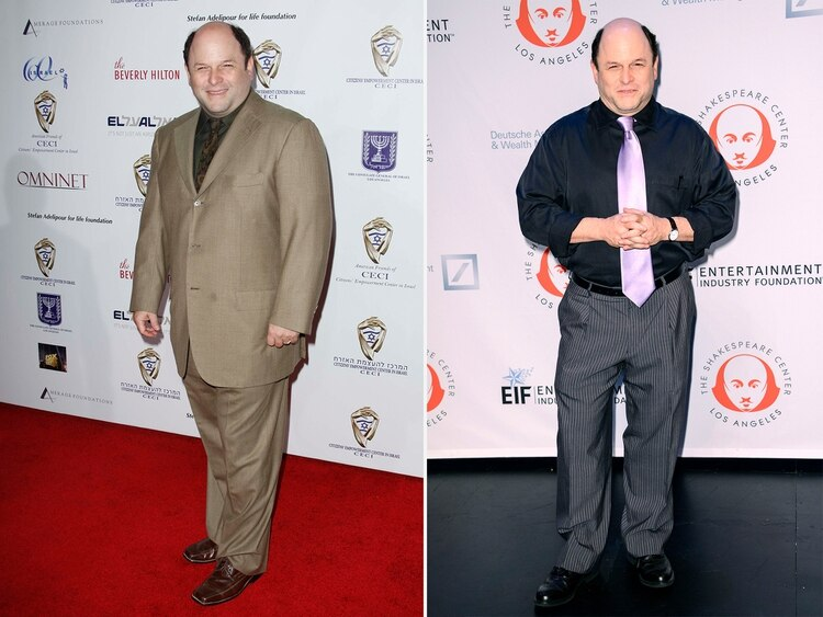 Jason Alexander se deshizo de más de 15 kilos (Shutterstock)