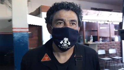 Alejandro Namor, bombero voluntario de El Bolsón (Facebook)