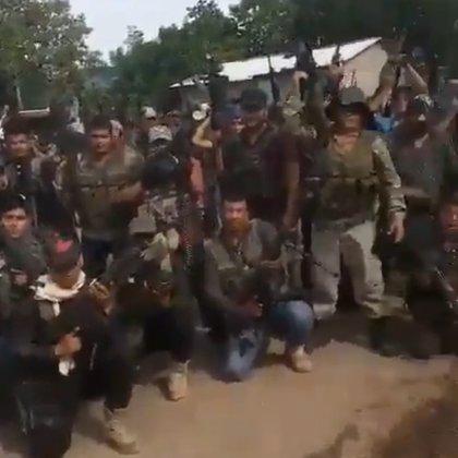 La Familia Michoacana lanzó a finales de agosto una advertencia al CJNG (Foto: captura de pantalla)