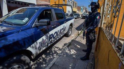Aguascalientes ha sido asediada por el CJNG el Cártel de Sinaloa aunque también tendría presencia de Los Talibanes (Foto: Twitter@SSPMAgs)