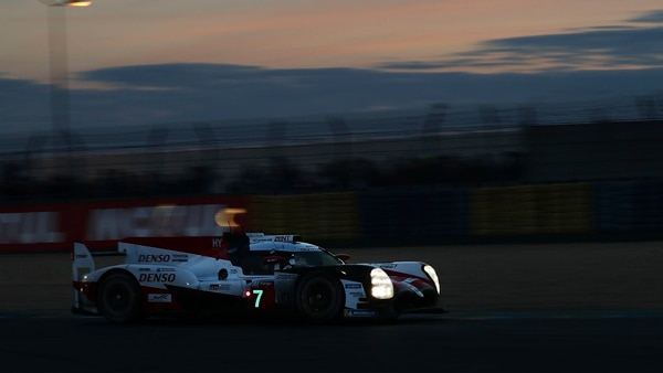 López, en la noche de Le Mans