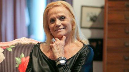 Elsa Serrano, uno de los emblemas de los '90 en la Argentina (Nicolás Aboaf)
