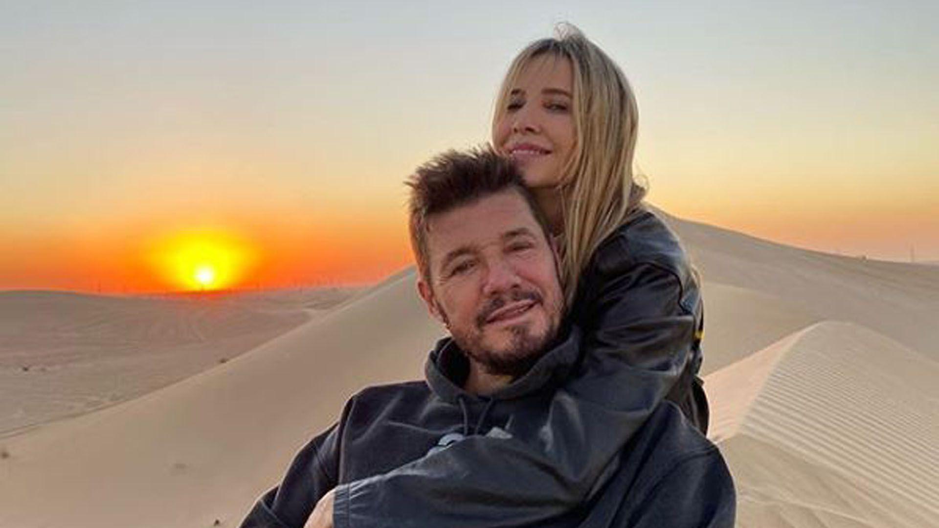 Marcelo Tinelli y Guillermina Valdés (Foto: Instagram)