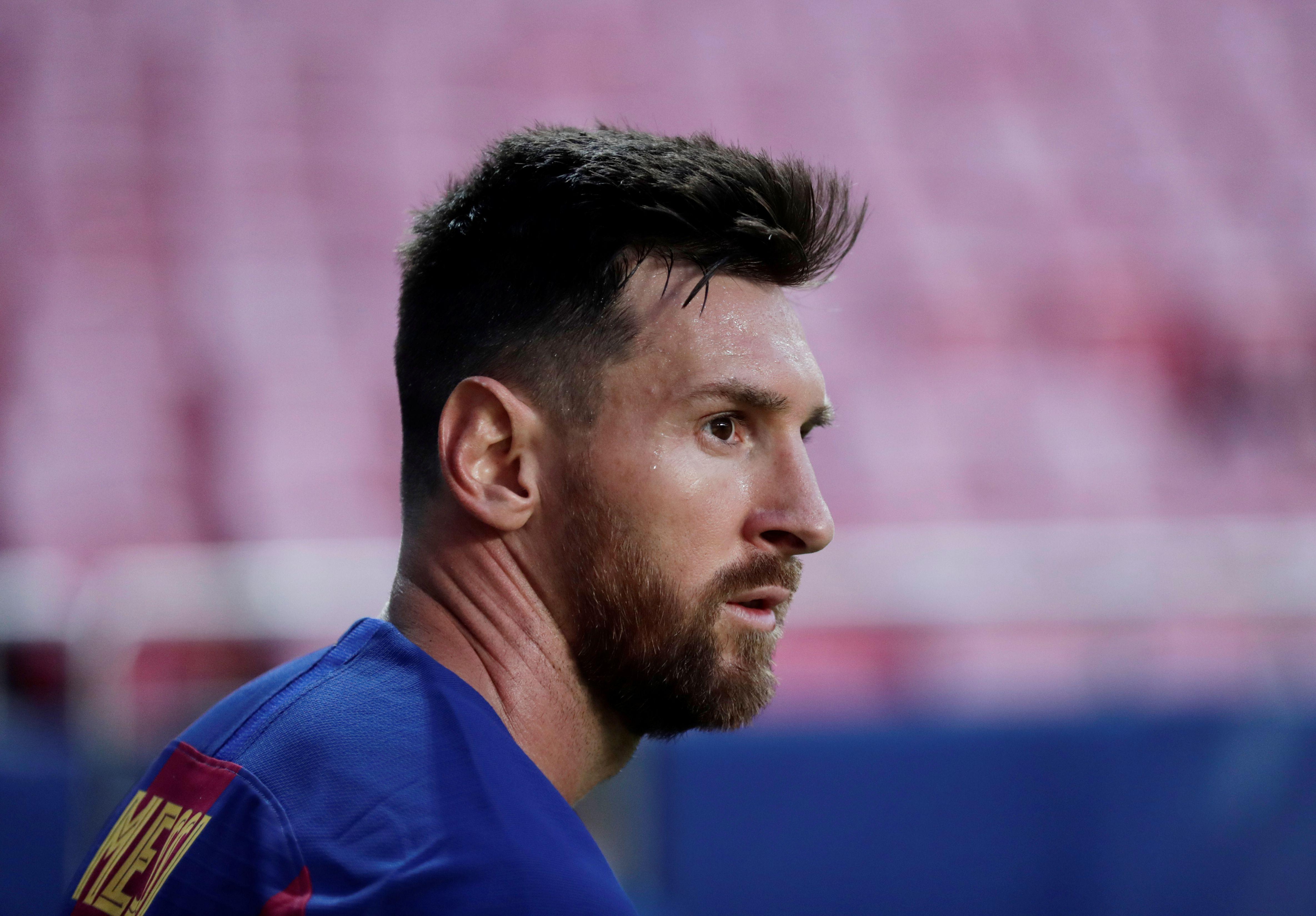 La relación entre Messi y la directiva del Barcelona parece estar muy resquebrajada (Manu Fernandez/Pool via REUTERS)