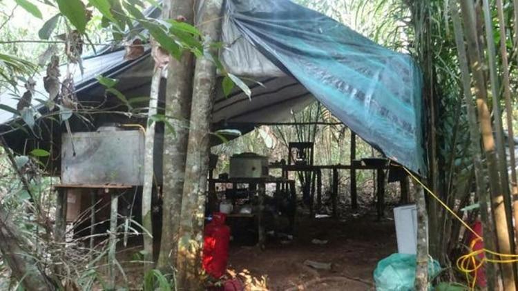 Un laboratorio de droga en Colombia (Foto de archivo)