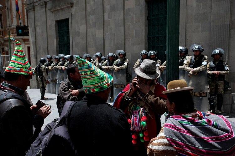 Manifestación en Bolivia (REUTERS/Manuel Claure)