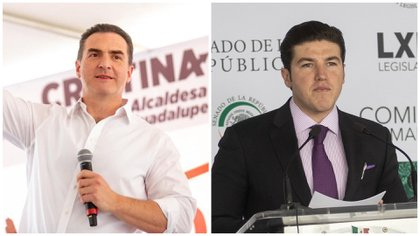 """Samuel García contra Adrián de la Garza: """"Mi vínculo con el crimen organizado es ir en la misma boleta contigo"""""""