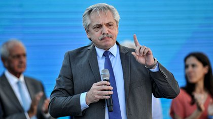 Alberto Fernández habló de la renegociación de la deuda