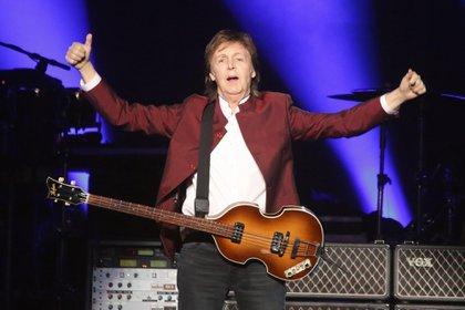 El músico Paul McCartney (EFE/EPA/DavidaYoung/ Archivo)