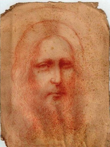 El verdadero rostro de Cristo, según Leonardo