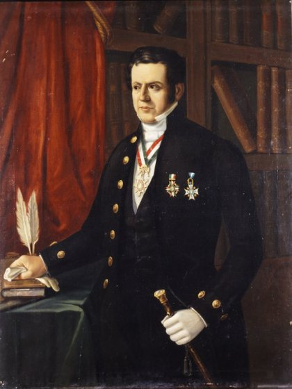 Antonio López de Santa Anna fue 11 veces presidente de México (Foto: INAH)