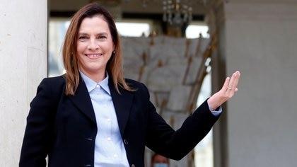 Beatriz Gutierrez Muller fue reconocida como investigadora nacional nivel 1 en el Sistema Nacional de Investigadores (Foto: Thibault Camus/Pool via Reuters)
