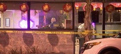 La policía encontró al sospechoso en la frontera (Foto: Captura de pantalla/NBC los Ángeles)