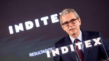 El presidente de Inditex, Pablo Isla EFE/Cabalar/Archivo
