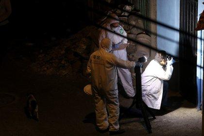 La Policía de Investigación (PDI) continúan recabando pruebas en la casa del secuestro de Fatima (Foto: Graciela López/Cuartoscuro)