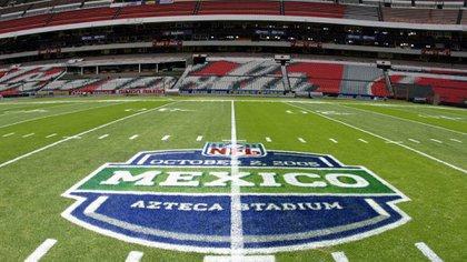 La NFL no jugó el año pasado en México por culpa del mal estado del pasto (Foto: Archivo)