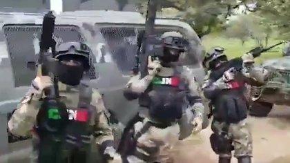 Arrestan a seis agentes de investigación en Oaxaca por supuesta protección al CJNG (Foto: Captura de pantalla)