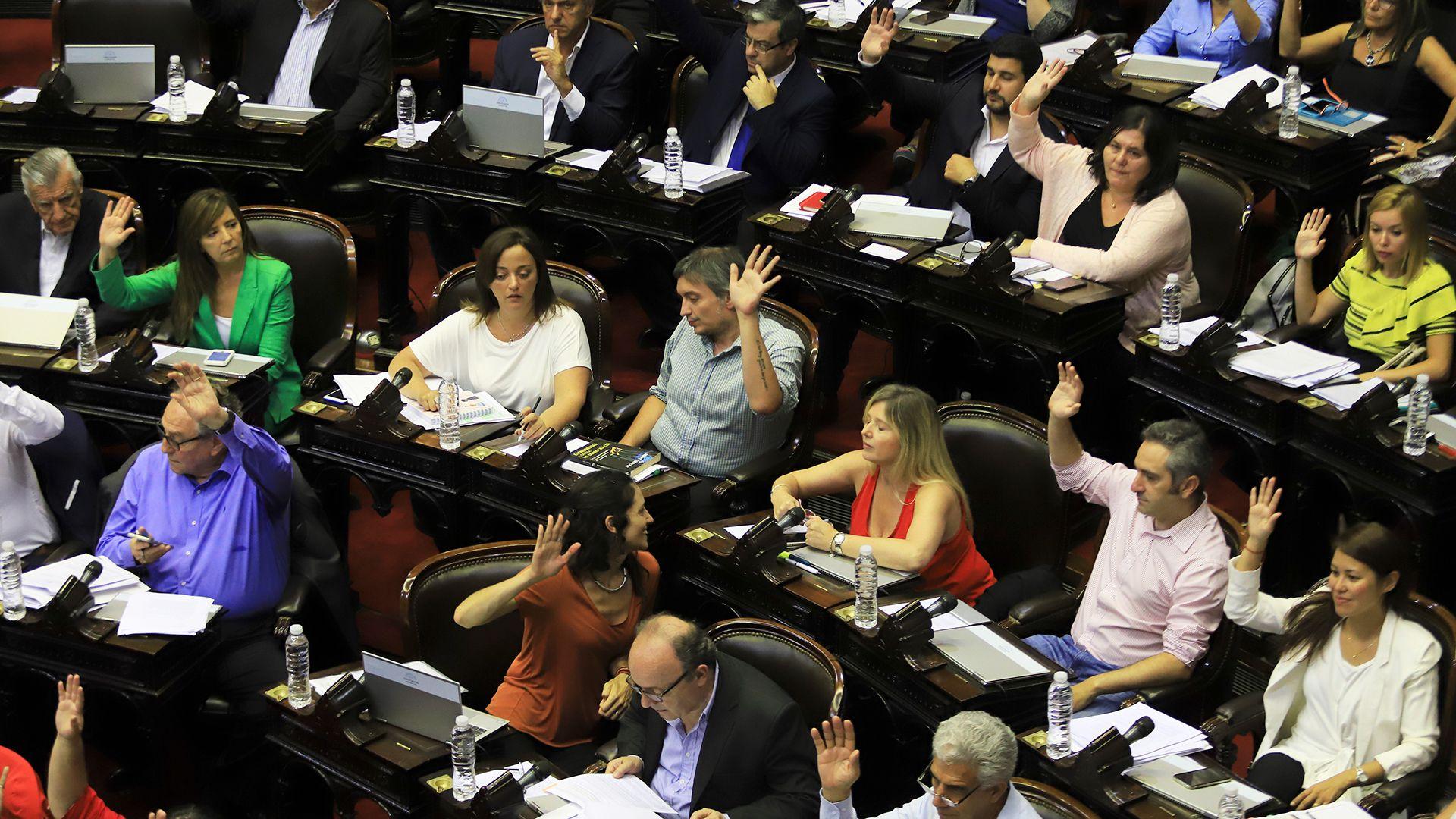 El acuerdo se logró luego de una extensa negociación entre el oficialismo y la oposición (Foto: HUGO VILLALOBOS)