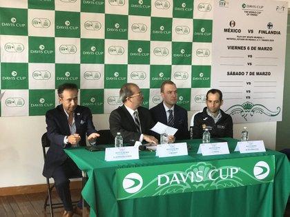Este jueves fue el sorteo de la Serie Copa Davis en Metepec, Estado de México (Foto: Eduardo Alavez/ Infobae México)