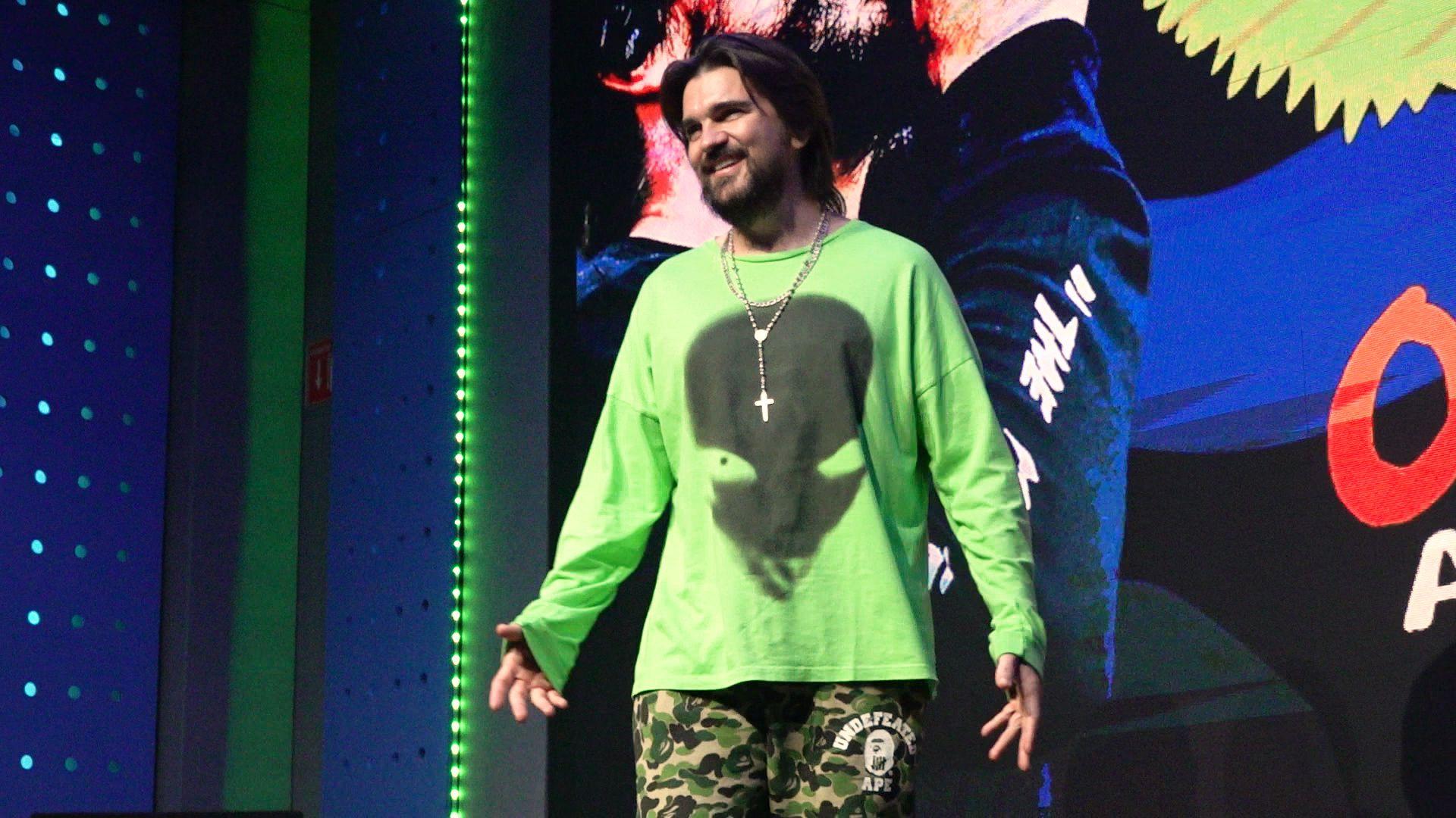 """Juanes terminó la grabación de su disco """"Más futuro que pasado"""" (Foto: Infobae)"""
