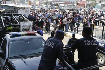 El asesinato de los ancianos se registró en el centro de Oaxaca (Foto: EFE/Mario Arturo Martínez)