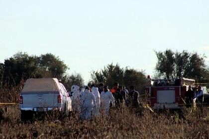 Peritos realizaron investigaciones en la zona (Foto: Cuartoscuro)