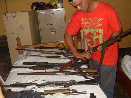 En un centro de entrenamiento de armas e ideología convirtieron el expropiado hato El Frío